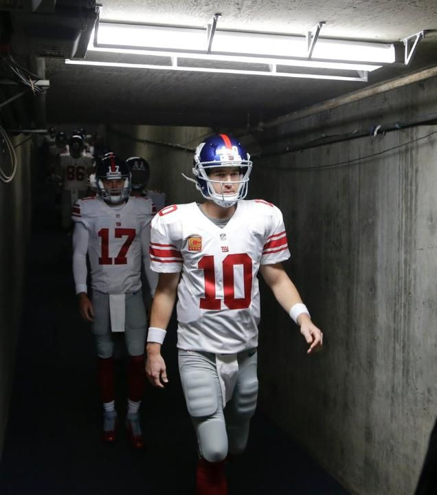 Giants vs. Chargers - Eli Manning and Co. coming to the field 12/8/13
