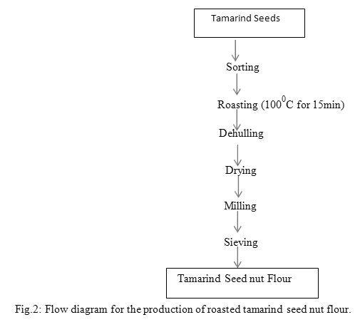 Image result for flowchart of tamarind concentrate