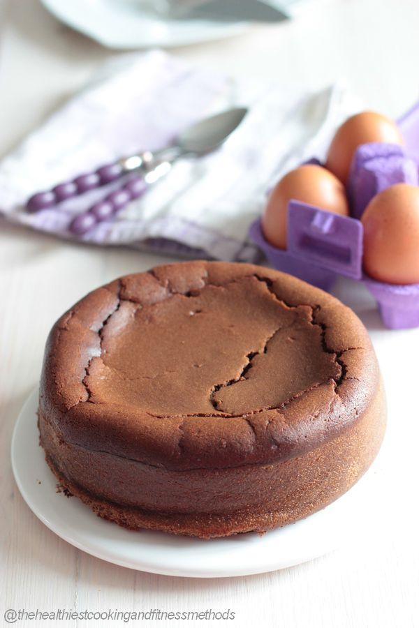 Fondant au chocolat tout léger et sans beurre
