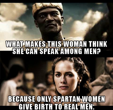#spartan, #gorgo, Queen Gorgo in 300. Female leadership. Women. History. Diplomacy. Historical movies.