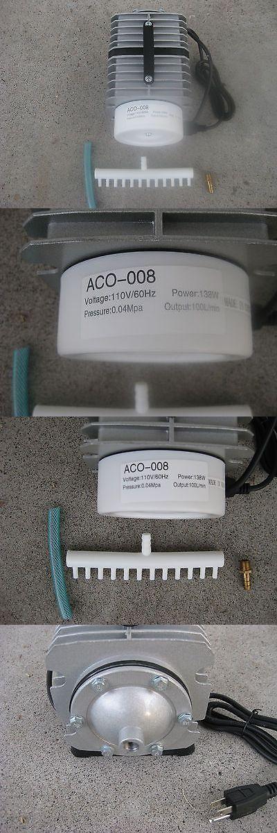Pumps Air 100351: Aco-008 Aquarium Electromagnetic Air Pump, 100L/Min, 138 W BUY IT NOW ONLY: $59.12