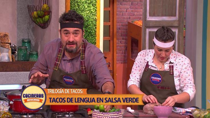 Receta: Trilogía Taco de Lengua   Cocineros Mexicanos