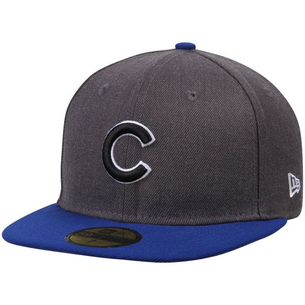 a24c8966edb Men s Chicago Cubs New Era Charcoal Royal Shader Melt 2 59FIFTY Fitted Hat