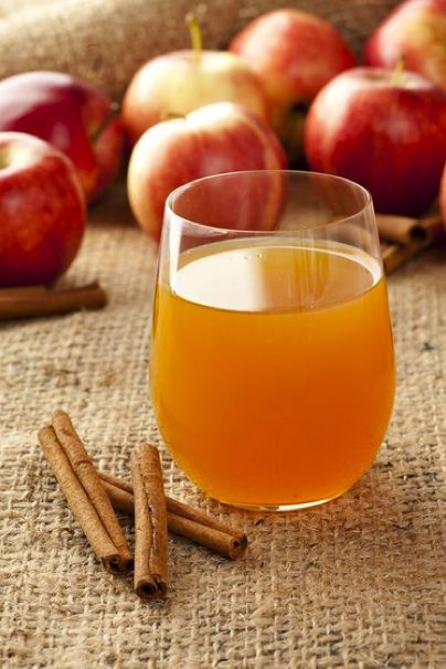 Recipe: Apple Cider Mimosa...I've been doing this for a few years and it's the perfect fall drink!