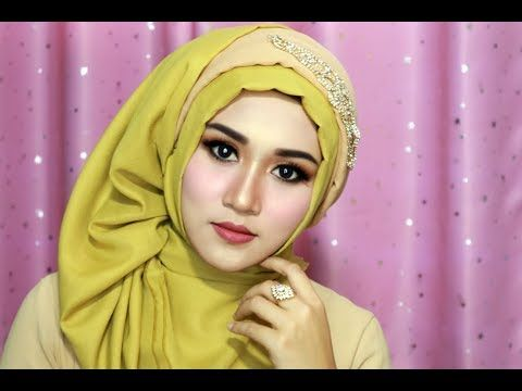 Tutorial Make Up Dan Hijab Sege Empat Semple Mewah Hijab Pesta Hijab Kndangan Hijab Wisuda 1 Youtube Hijab Tutorial Hijab Style Tutorial Style Icons Women