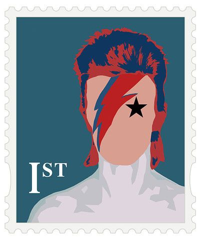British First Class 1st Stamp Big Fat Arts BFA Gallery limited editions czar catstick Pop Art portraits Union Flag UK designer fashion