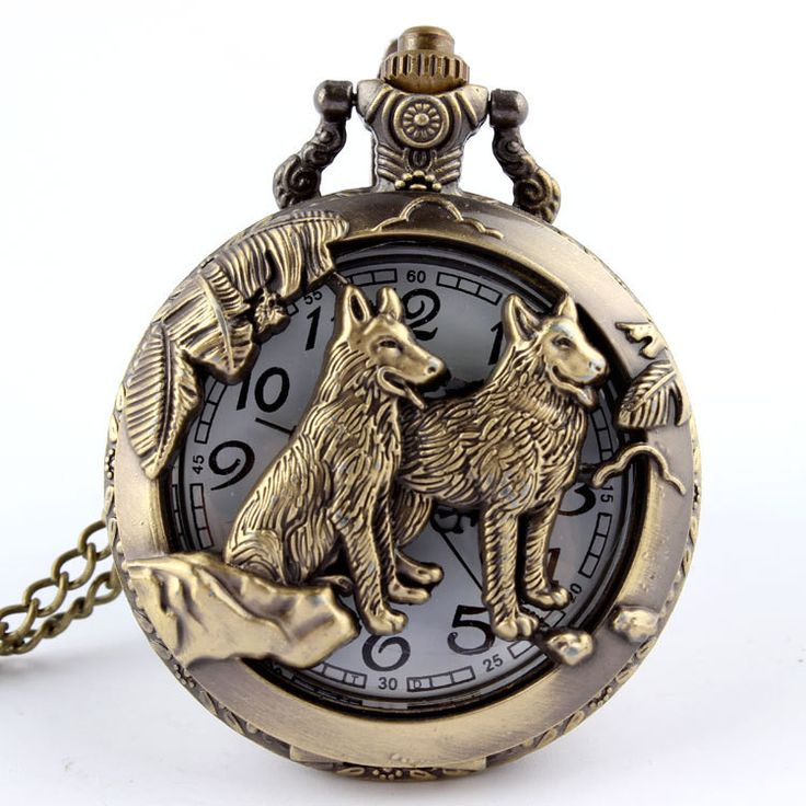 SPECIAL OFFER AND FREE SHIPPING Do you love wolves? Then get this elegant wolf pocket watch that you can carry everywhere you go, while at the same time you display your support for this unique animal