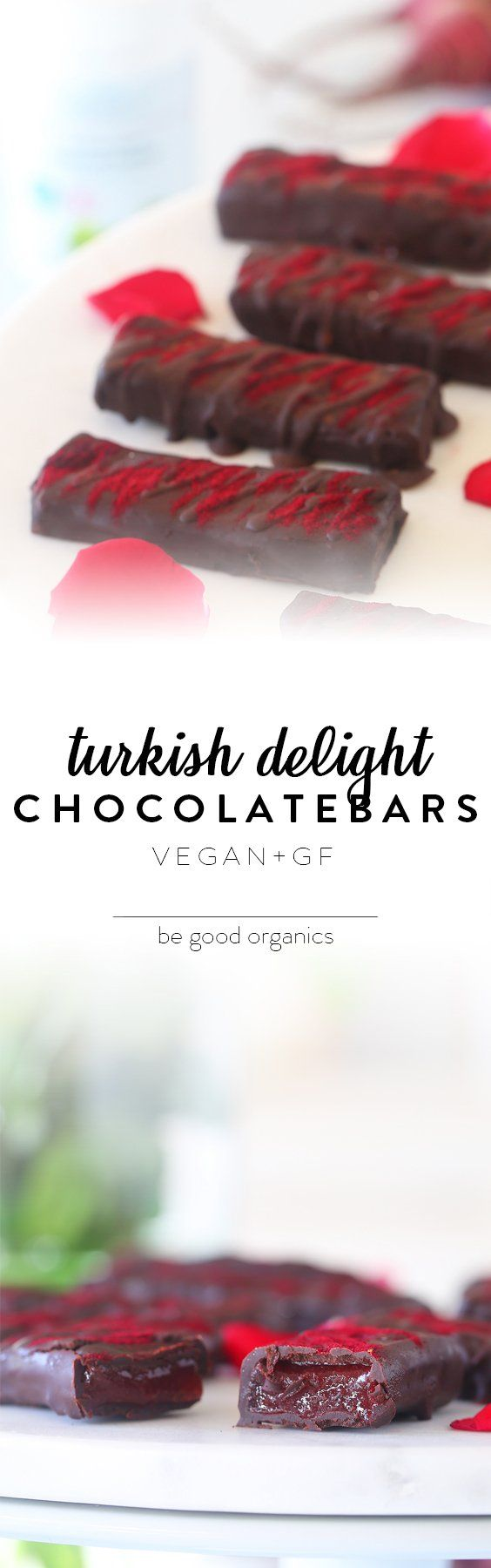 Turkish Delight Chocolate Bars - Be Good Organics
