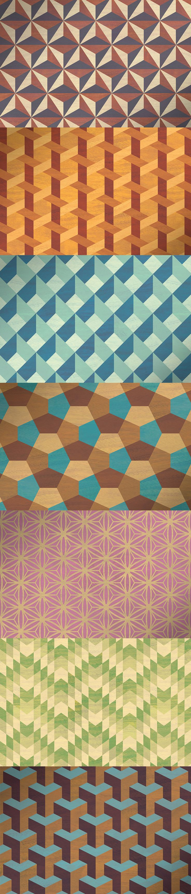 Geometric Marquetry Patterns  -  https://www.designcuts.com/product/geometric-marquetry-patterns/
