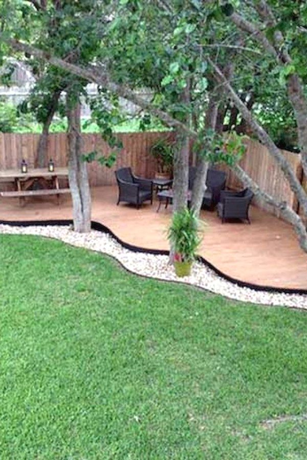 29 Easy Diy Landscape Plans You Should Try For Your Home Backyard Landscape Idea Small Backyard Landscaping Backyard Landscaping Designs Backyard Landscaping