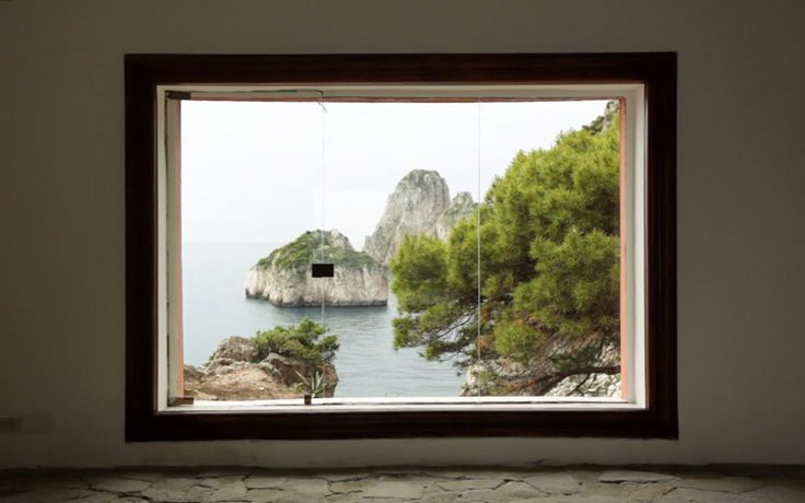 Casa Malaparte. Picture Window.