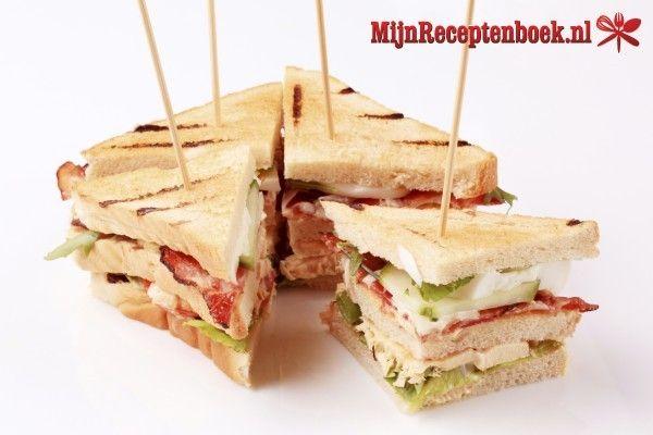 Boerenham-kaassandwich recept