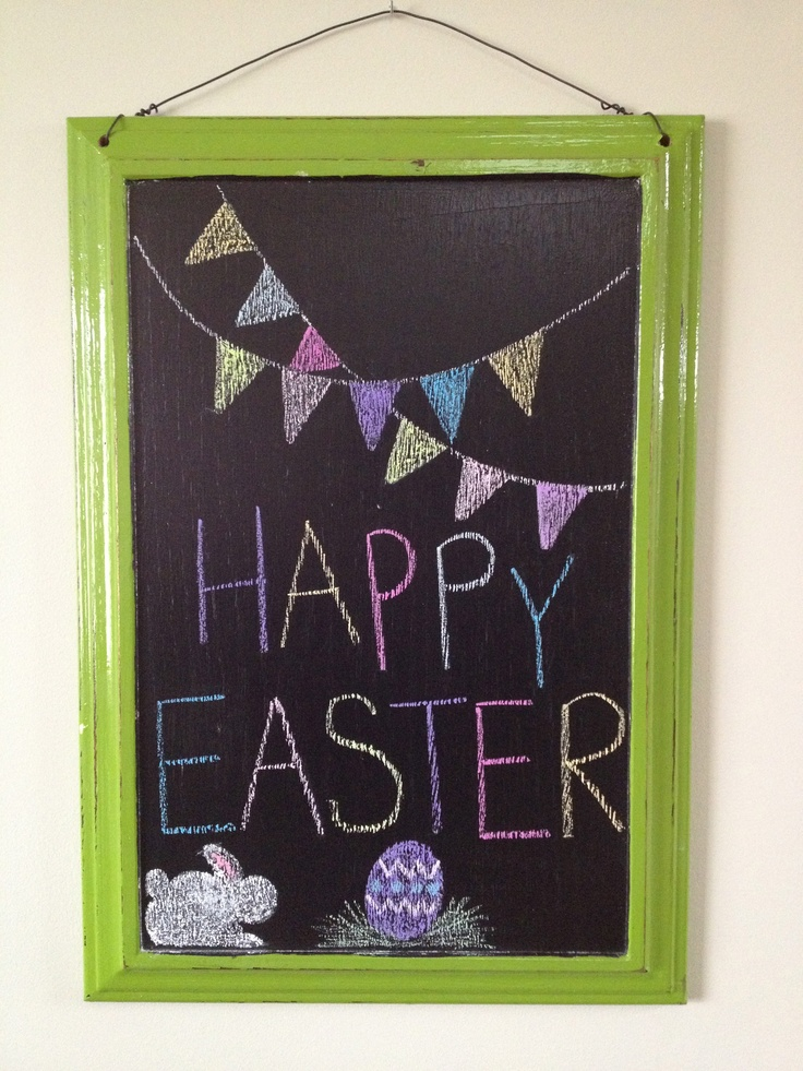 17 Best Images About Chalkboard Calendar Spring March