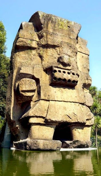 Tlaloc Statue placed in The National Museum of Anthropology, Mexico City. Maravillas Del Mundo Tour By Mexico - Google+