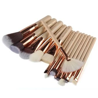อย่าช้า  15pcs Makeup Brushes Set (Nude+Rose Gold) - Intl  ราคาเพียง  323 บาท  เท่านั้น คุณสมบัติ มีดังนี้ A good makeup accessory for ladies and girls A professional quality brush set which& includes allthe basics you need for daily applications Suitable for Professional use or Home use Easy to stick powder, natural color, rendering&uniform With proper care, your brushes can be enjoyed for&years. It is convenient for you take and use. It also can make the& brush used foryears.