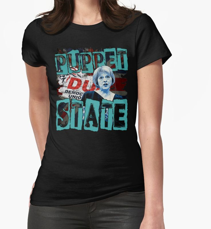 """""""PUPPET STATE"""" T-Shirts & Hoodies by Paparaw   Redbubble"""