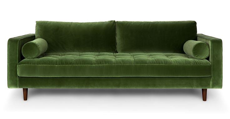 Sven Grass Green Sofa - Sofas - Article | Modern, Mid-Century and Scandinavian Furniture