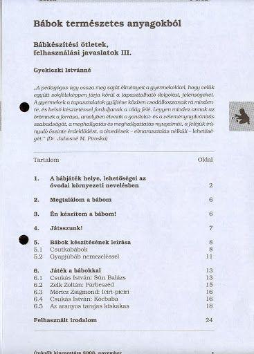 C1-12 - Bábok természetes anyagokból - Angela Lakatos - Picasa Webalbumok