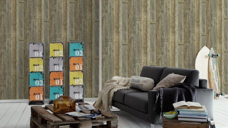 Tapete Holzoptik Sch?ner Wohnen : Pinterest Tapete In Holzoptik, Holzoptik ?i Sch?ner Wohnen Farben