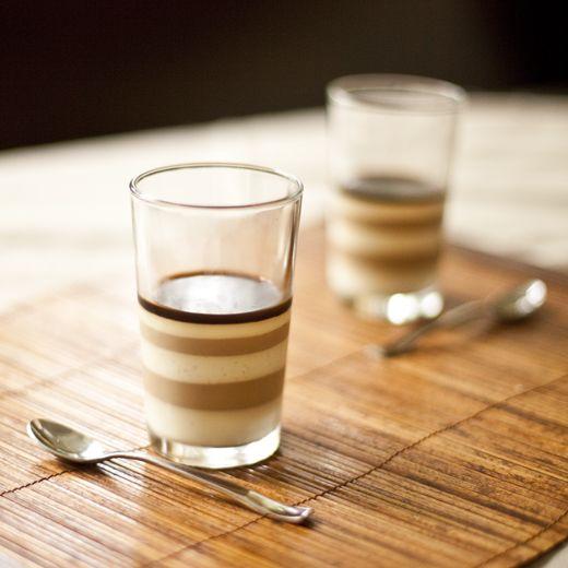 Vietnamese ice coffee panna cotta