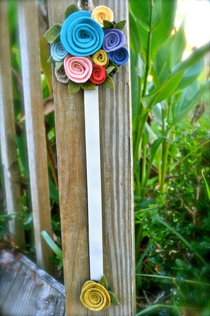 Barrette Holder - Custom Colors Available. $20.00, via Etsy.