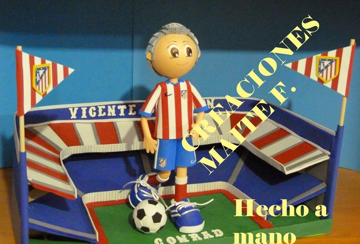 33 best images about fofuchos futbolistas on pinterest - Cursos manualidades madrid ...