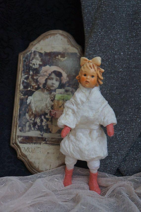 Doll cotton batting snow  Cotton Batting by RussianshawlRustic