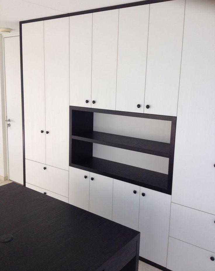 25 beste idee n over kantoor aan huis op pinterest kantoorruimte ontwerp helder kantoor en - Te vangen zwart wit ontwerp ...