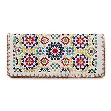 Look what I found at UncommonGoods: Fez Mosaic Embroidered Wallet for $28.00