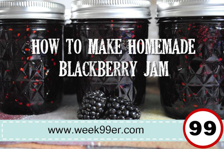 I wasn't able to find a recipe for homemade blackberry jam any where - so I made my own! It's a favorite in our house and will be in yours!