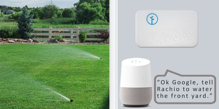 Rachio smart sprinkler controller gets Google Assistant integration @rachi0  #homecrux