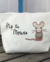Not Before Tea Pip The Mouse Oil Cloth Wash Bag || Igloo Kids Clothing