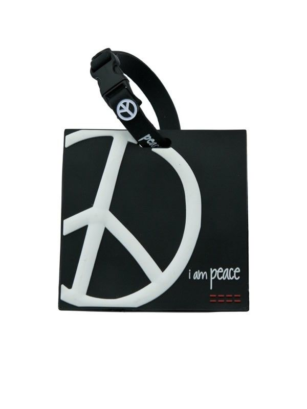 I Am Peace Black Lug E Tag I Had To Get This To Go With My
