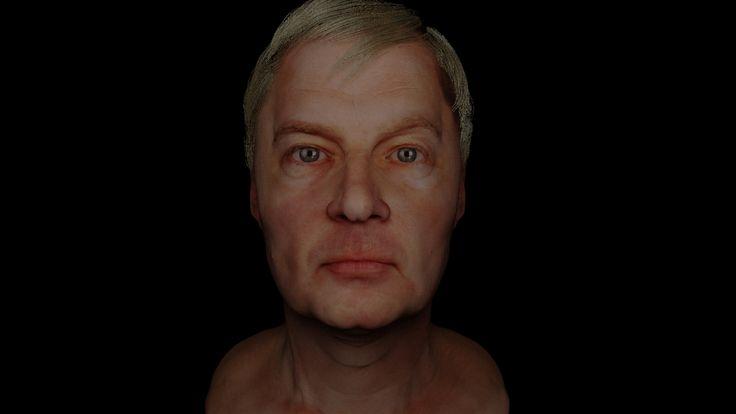 Zbrush Head Sculpt WIP