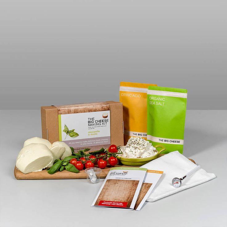 Mozzarella And Ricotta Cheese Making Kit