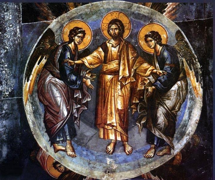 Εικόνα Αναλήψεως, Εκκλησία Παναγίας Περίβλεπτος Οχρίδα XIII (13ος ) αιώνας