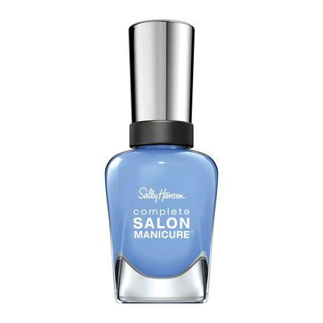 Sally Hansen Complete Salon Manicure Nail Polish Crush On Blue