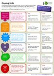 Printable handout, including one to fill-in for reflecting on personal use of varies strategies