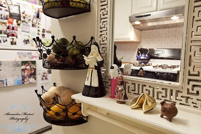 Country Kitchen D-I-almost-Y: Tile Backsplash and Ikea Butcherblock Counter Tops