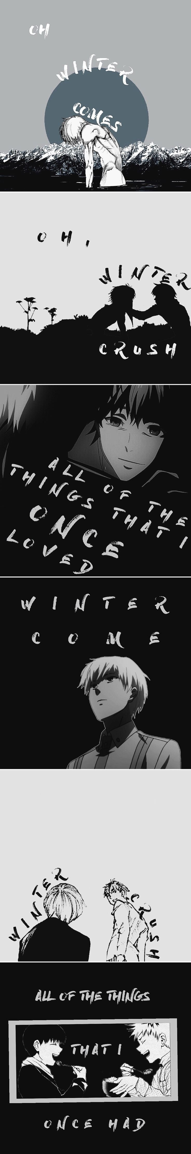 More Tokyo Ghoul feels for you