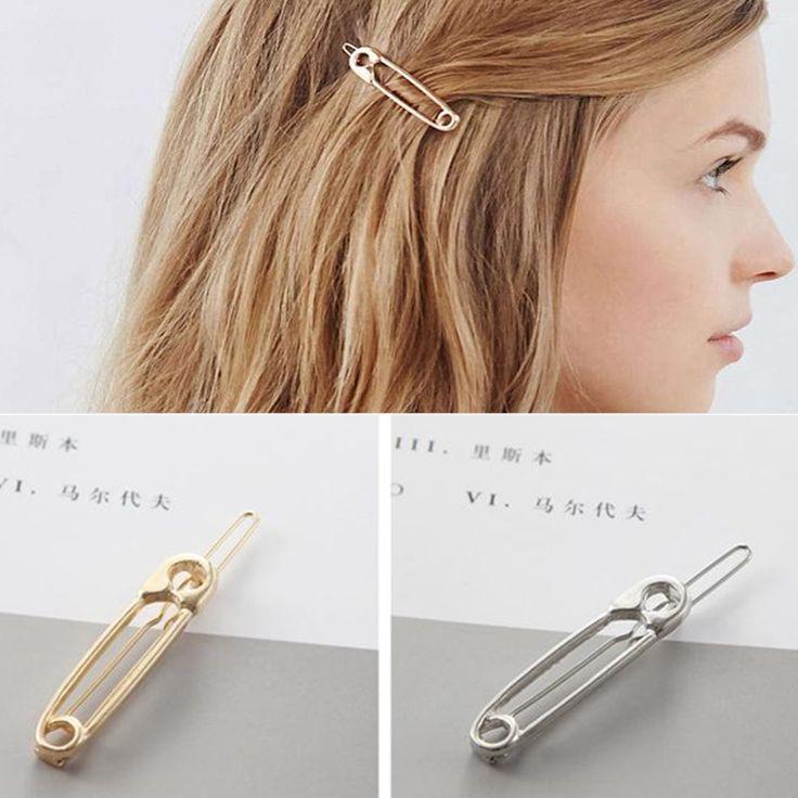 Hàn quốc accesorios para el pelo Kim Loại Pin Tóc Clip Cô Gái Cổ Điển Kẹp Tóc Vàng Công Chúa Phụ Nữ Phụ Kiện Tóc t57