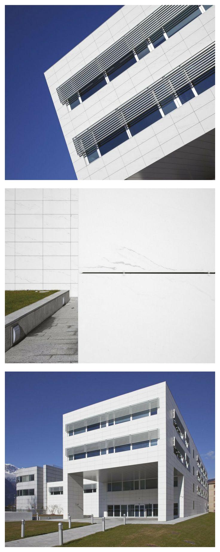 120x60 Michelangelo Statuario for Trentino Network HQ