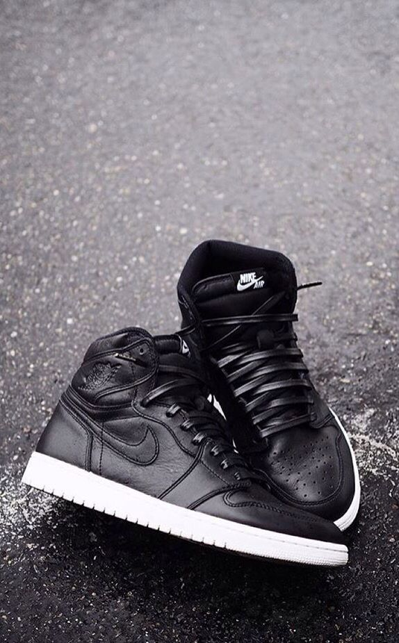 """Nike Air Jordan 1 """"Cyber Monday"""" with Leather laces truly high fashion."""