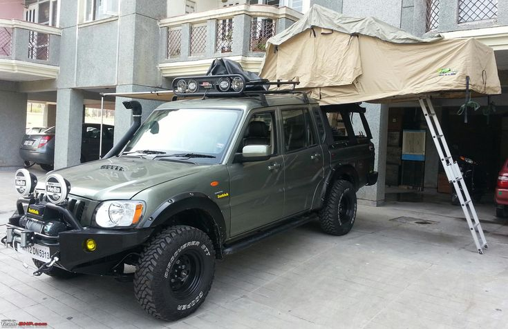 Mahindra Scorpio modified..