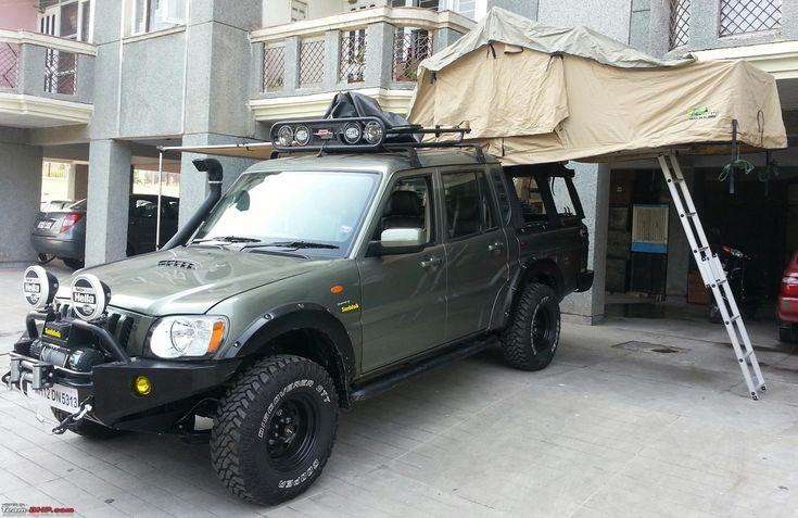 Mahindra Scorpio modified..