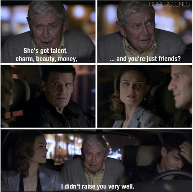 Bones!!! Booth and Brennan took waaaay too long to get together! I don't care if it was necessary for the series to continue like it did, I thought they'd be grandparents by the time they got together!!! lol XD