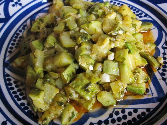 Sauteed Zucchini the Moroccan Way
