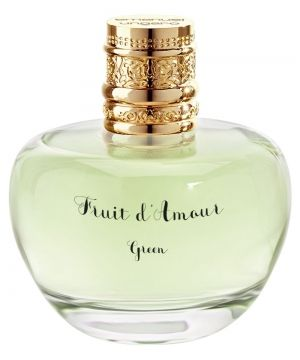 Fruit d'Amour Green Emanuel Ungaro for women (2015)...  Fruit d'Amour Green is designed for women of free spirit and cheerful character, who enjoy life. Its fresh floral - fruity composition is created by perfumer Alex Lee. The fragrance opens with zesty notes of orange, mandarin and green apple, leading to the heart of jasmine and white peach. The base ends with a veil of white musk. Perfume rating: 3.53 out of 5 with 21 votes.