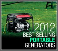 Electric Generators Direct lists the best selling portable generators of 2012. After a busy start to hurricane season and almost 8 months of sales data, these portable generators have risen to the top of the heap.