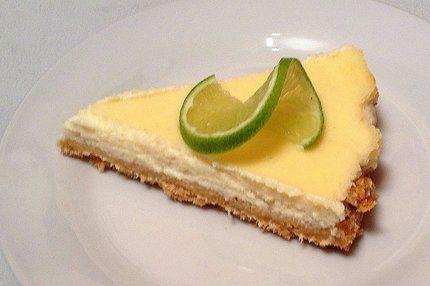 kokosovo-limetkový cheesecake